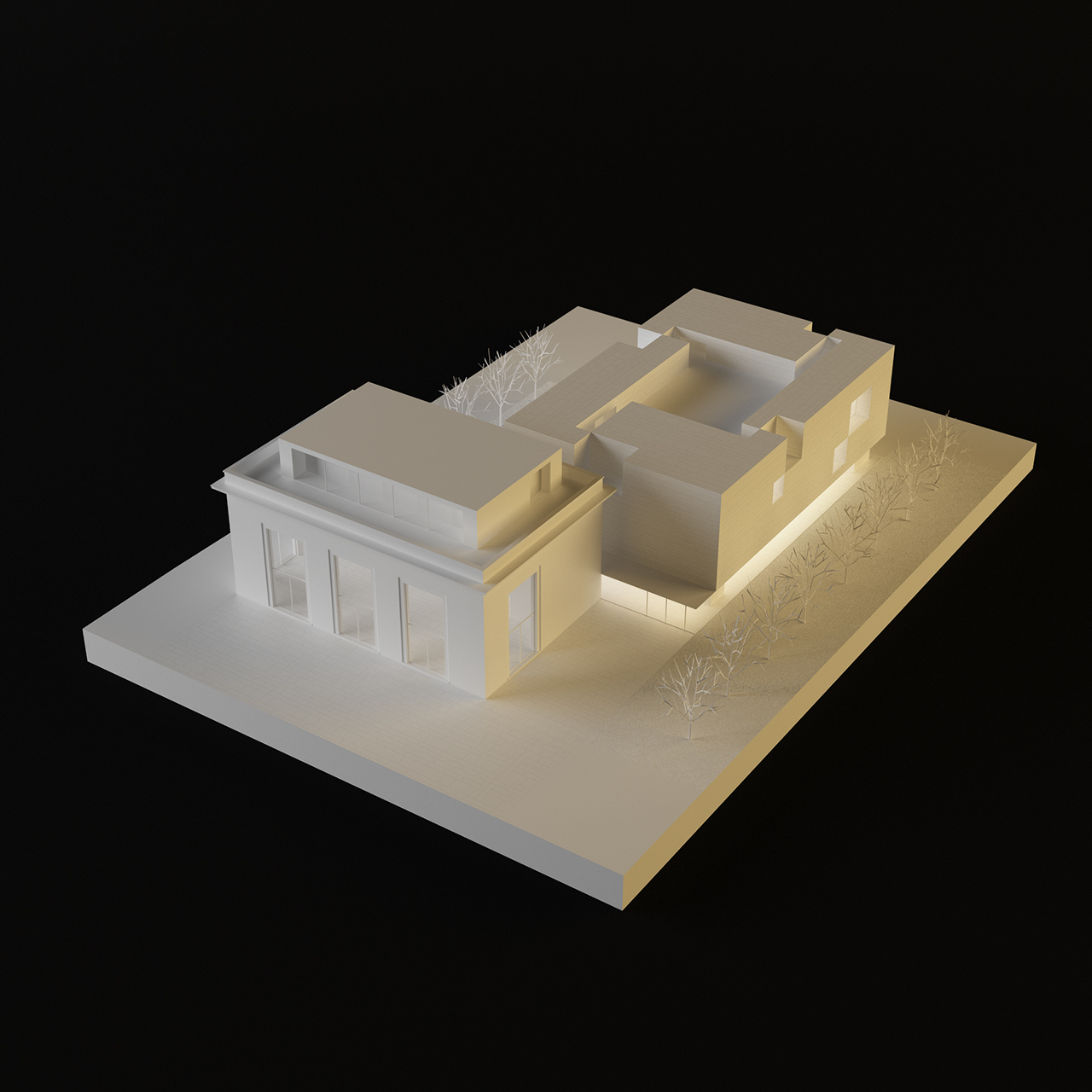 The architectural project ccc od for Architecture projet